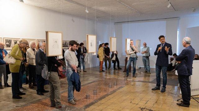L'expo David Lynch dans une galerie contemporaine