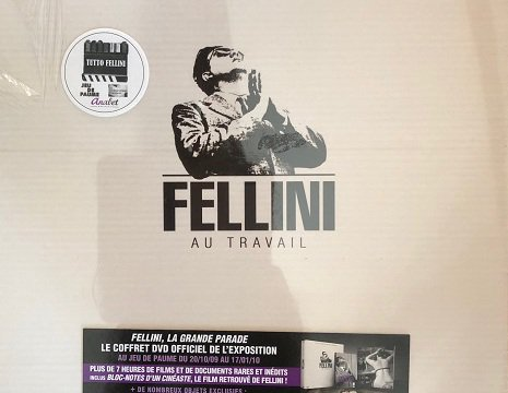 Prestige box set - Fellini at work