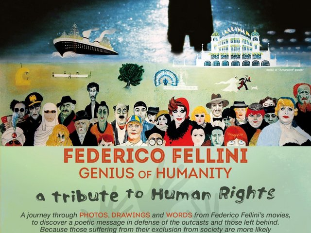 Exposition Fellini à Bangkok